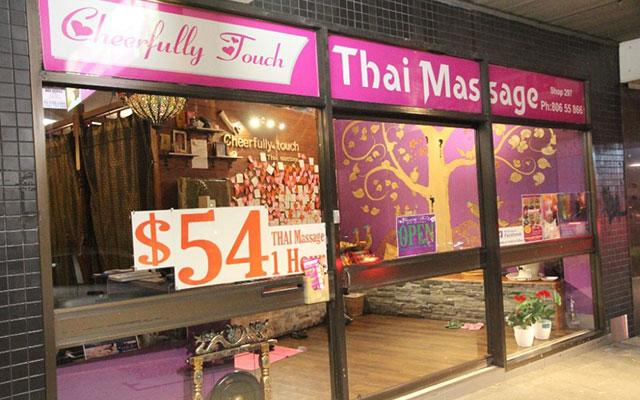 Cheerfully Thai Massage Bexleynorth Outside