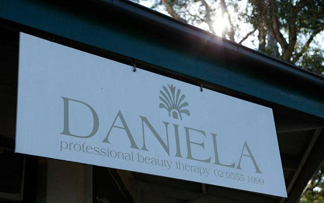 Daniela Professional Beauty Therapy Signboard